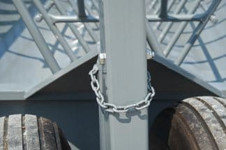 chain to hold feeder wagon tongue when not towing