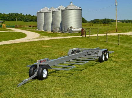 bale wagon with 10 round bale capacity