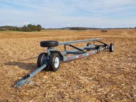 SpeedPro grain header or corn header single axle trailer