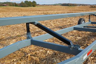 Heavy duty Brackets allow multi-increment adjustments