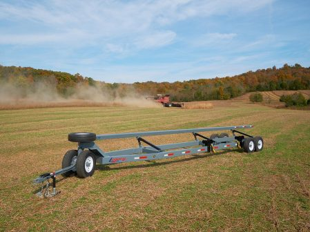 SpeedPro tandem axle header trailer